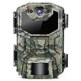 Victure Wildkamera 16MP 1080P Full HD Leichtes Glühen Infrarot Nachtsicht Überwachungskamera mit Bewegungsmelder und Upgrade IP66 Wasserdichtes Design für Jagd, Überwachung von Eigentum und Tieren